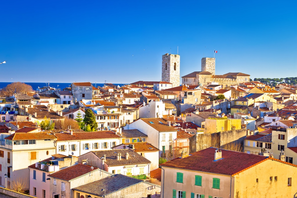 town of Antibes